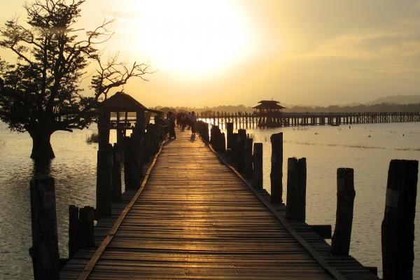 Birmanie Mandalay Pont Tek 3