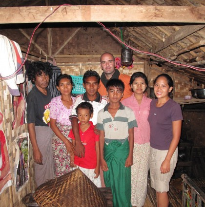 Aidez une famille en Birmanie