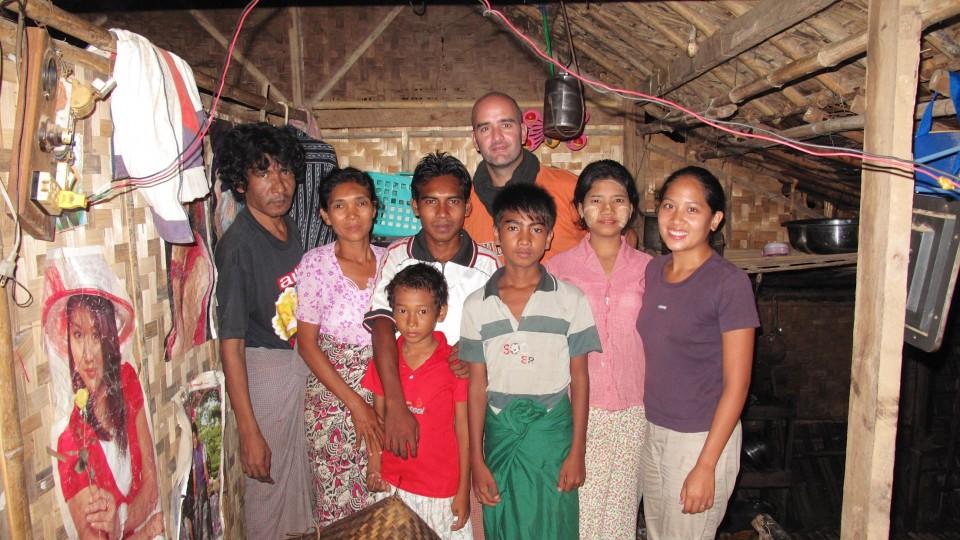 Birmanie famille Bobo