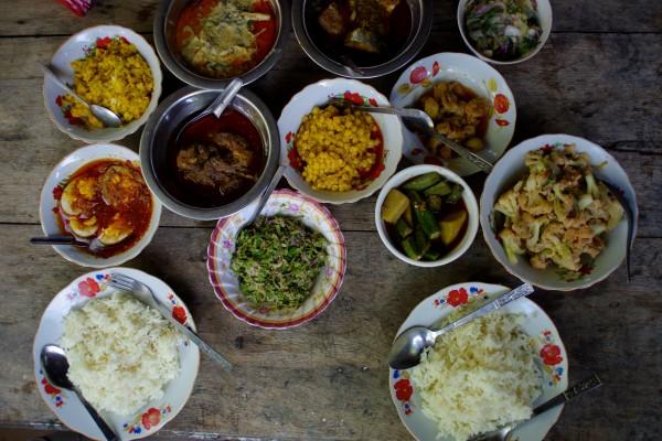 Repas Birmanie chez Bobo