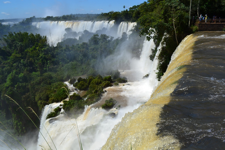 Chutes d'Iguazu côté argentin