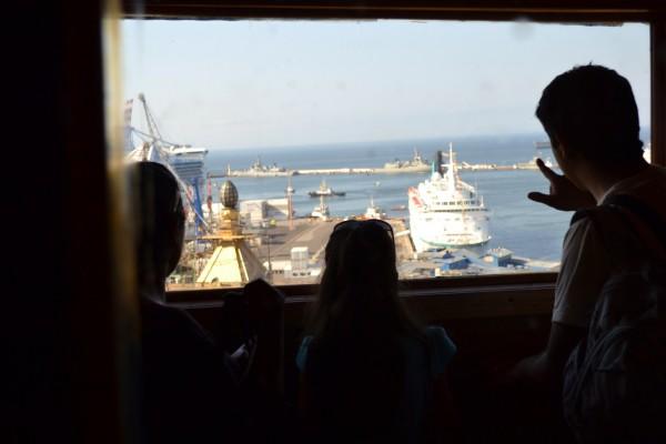 Chili valparaiso vue sur le port