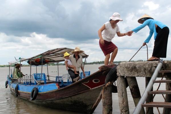 Delta du mekong en bateau Vietnam