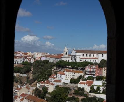 Lisbonne depuis le château de Sao Jorge