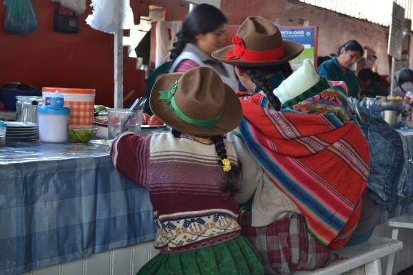 Perou marché San Pedro Cusco