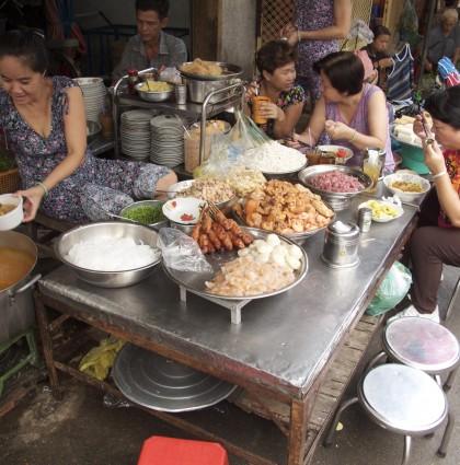 Faire la dinette à Ho Chi Minh