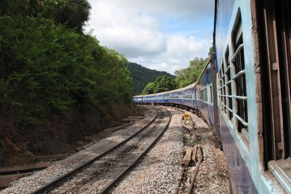 inde voyage en train