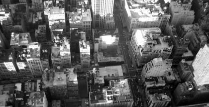 Vue sur la ville depuis l'Empire State Building